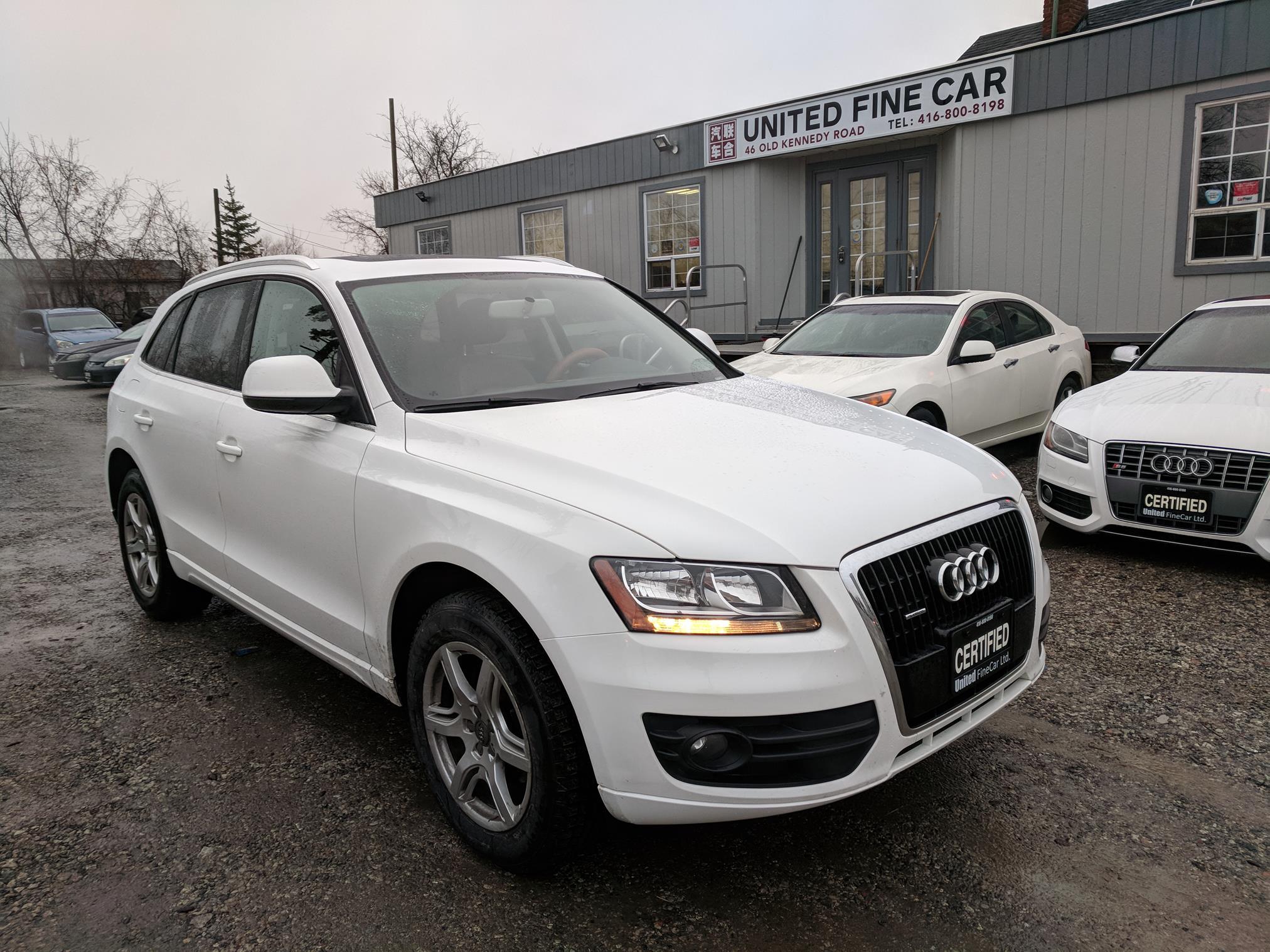AUDI Q QUATTRO WHITE United Fine Car Ltd - Audi car loan calculator